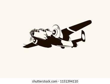 Old war plane