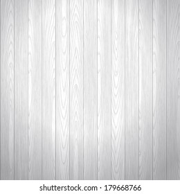 Old washed wood texture vector background. Floor boards. Gray color.