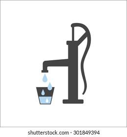 Old water pump