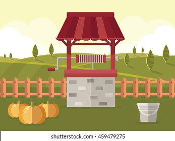 Water Well Images Stock Photos Vectors Shutterstock