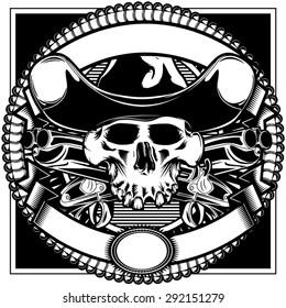 Old West Skull
