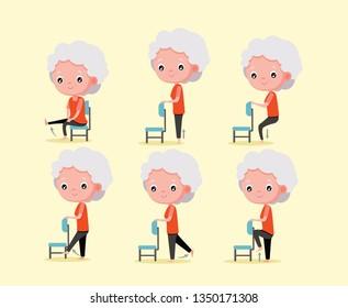 3866 printable chair exercises for seniors  homepedia