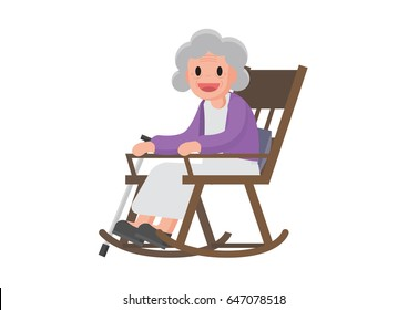 huge discount 06c3b 98b5f Grandmother Rocking Chair Images, Stock Photos & Vectors ...