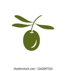 Olive branch illustration
