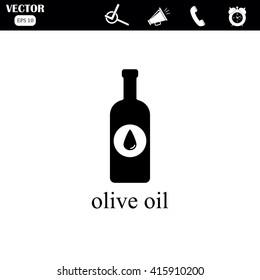 olive oil bottle.
