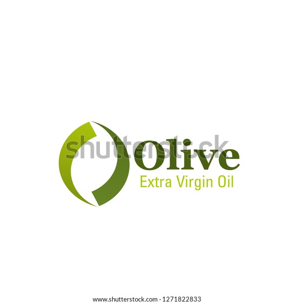 Olive Oil Letter O Icon Best Stock Vector (Royalty Free