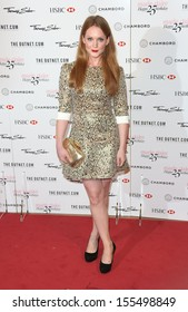 Olivia Hallinan arriving for the Marie Claire's 25th Anniversary celebration at the Cafe Royal Hotel, London. 17/09/2013	0