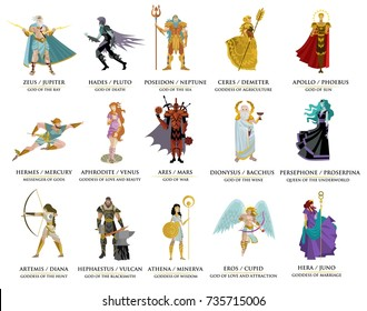 olympian greek gods
