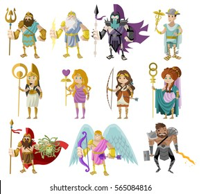 olympian roman and greek gods and goddesses
