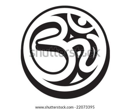 Om Aum Symbol Stock Vector Royalty Free 22073395 Shutterstock