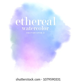 ombre water color