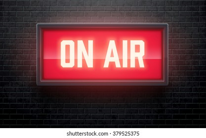 on air realistic sign