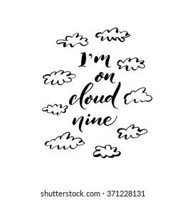 i am on cloud 9