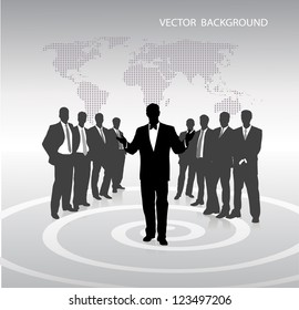 on the image abstract business a background is presented