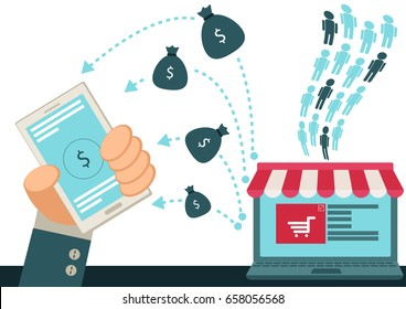 On line Shop Business