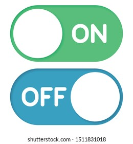 On Off Button Icon Vector Design Illustration