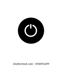 On off , start sign simple icon vector illustration
