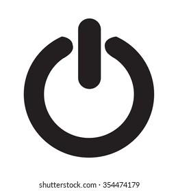 On Off switch icon Illustration design
