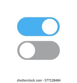 On Off switcher , Vector illustration , EPS10