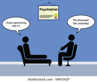 On the Psychiatrist couch with Doctor Quack and deja vu