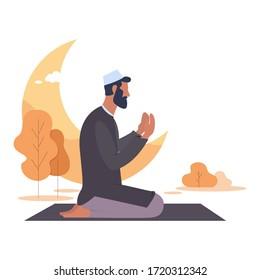 On Ramadan the Moslems pray to Allah