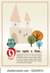 Once upon...story banner
