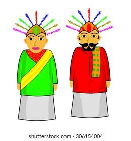 Ondel - ondel (big jakarta traditional puppet)
