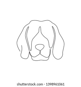 Imágenes, fotos de stock y vectores sobre Beagle Hand Draw