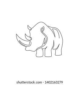 Line Drawing Rhino Images, Stock Photos & Vectors | Shutterstock