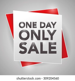 One Day Sale Images Stock Photos Vectors Shutterstock