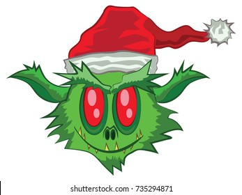 One Green Ogre in Christmas