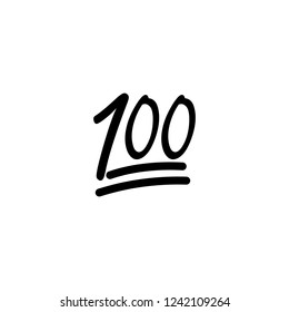 one hundred simple icon