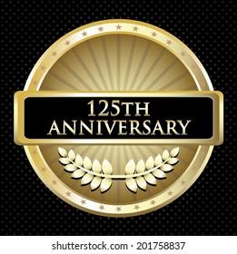 One Hundred And Twenty Fifth Anniversary Emblem