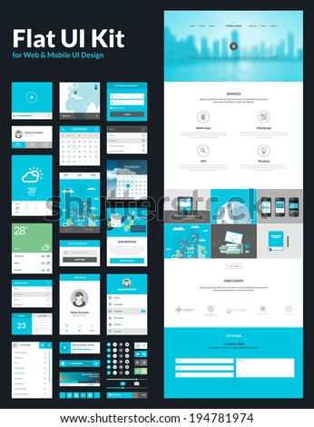 Website Page Design,landing page for website design,single page website design template