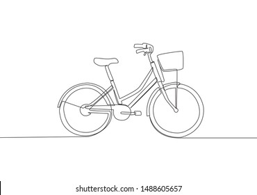 Bicycle Sketch Images Stock Photos Vectors Shutterstock