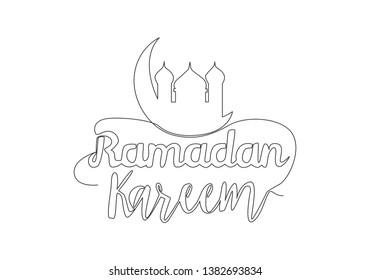 Ramadhan Drawing Images, Stock Photos & Vectors   Shutterstock