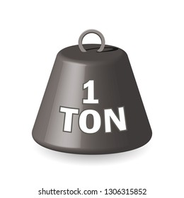 one ton weight