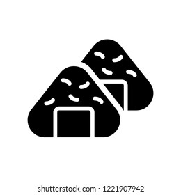 Onigiri icon. Trendy Onigiri logo concept on white background from Hotel and Restaurant collection. Suitable for use on web apps, mobile apps and print media.