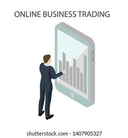 Online bisiness tradind  in top