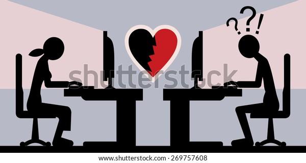 online break up, heartbreak