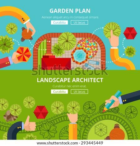 Online City Garden Creative Design Software Stock Vector Royalty Fascinating Professional Garden Design Software Gallery