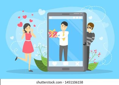 manliga dating scammers bilder
