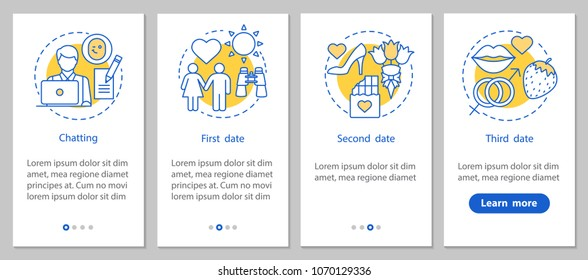 dating app concepts