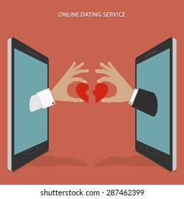 Online Dating Images Stock Photos Vectors Shutterstock