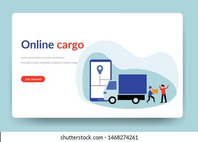 Ilustraciones, imágenes y vectores de stock sobre Gps Logistics