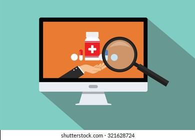 online doctor medical research search zoom pc computer pils capsule