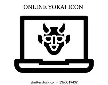 online Hannya icon. Editable online Hannya icon for web or mobile.