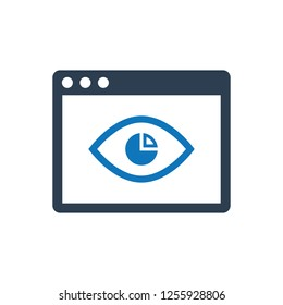 Online Impression Report Icon