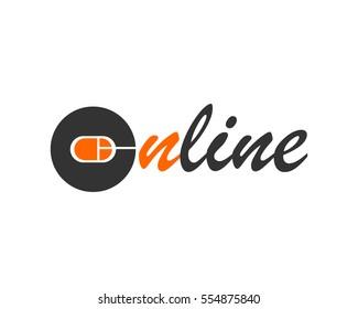 Online logo type design logo