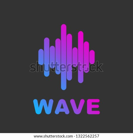 Online Media Streaming Online Song Audio Stock Vector (Royalty Free